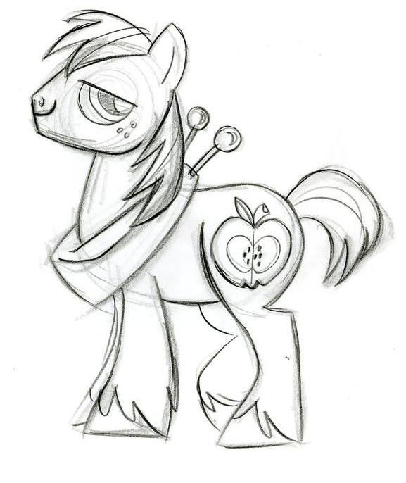 Mlp Big McIntosh Coloring Coloring Page