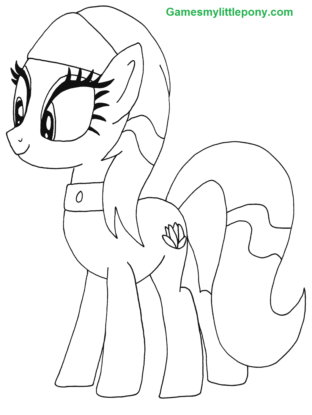 My Little Pony Aunt Orange Coloring Page