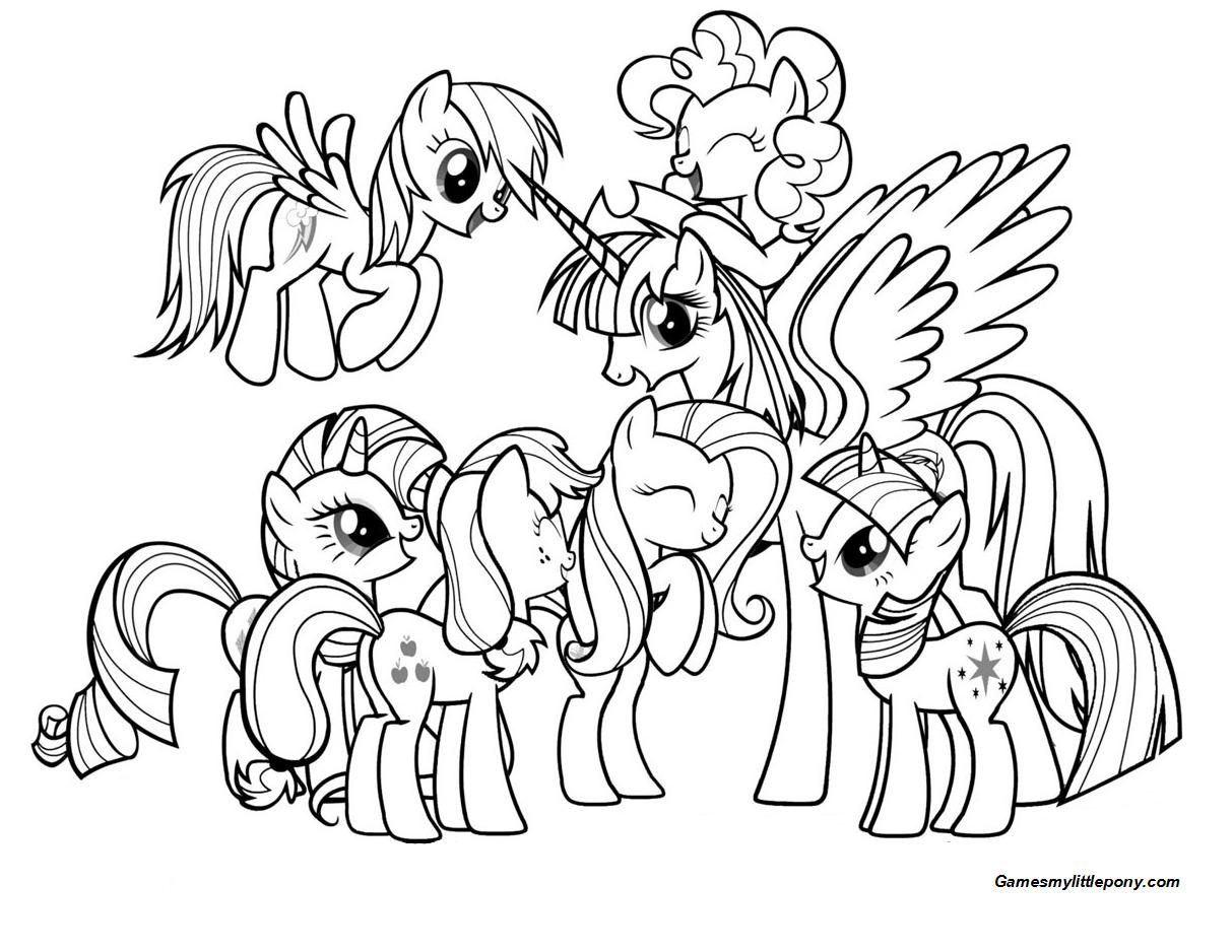 Princess Pony with Friends