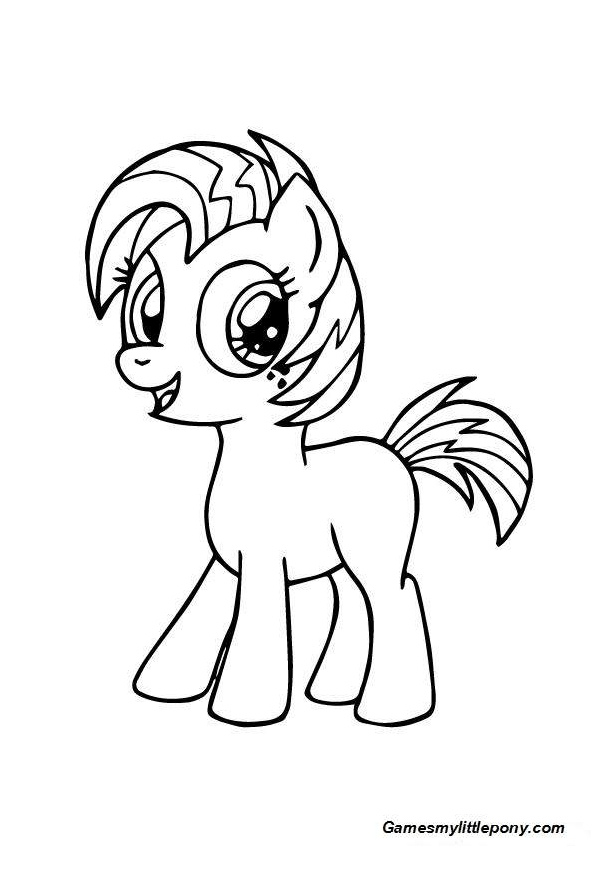 My Little Pony Babs Seed Coloring Coloring Page