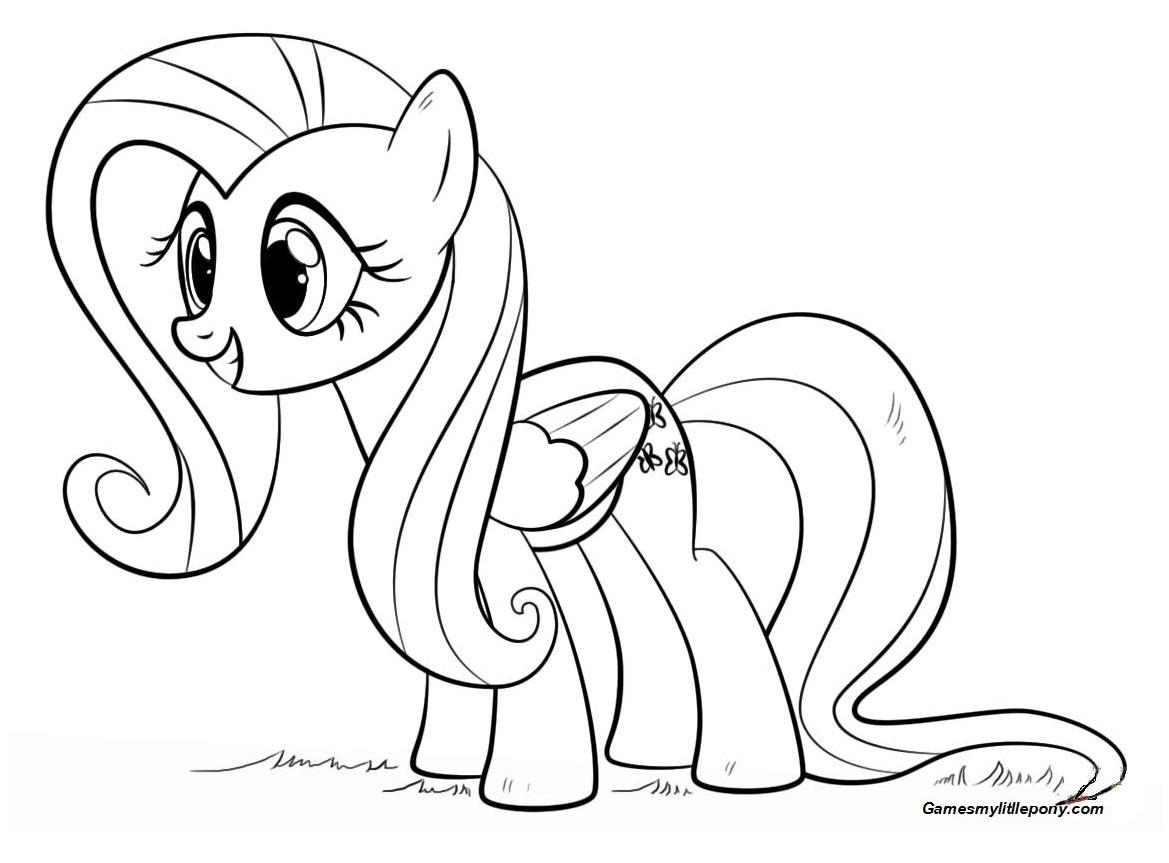 Fluttershy Pony from My Little Pony