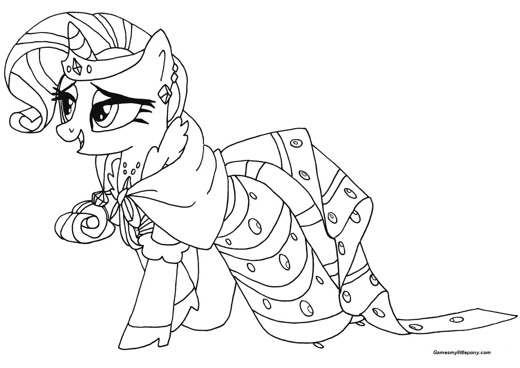 My Little Pony Rarity from My Little Pony