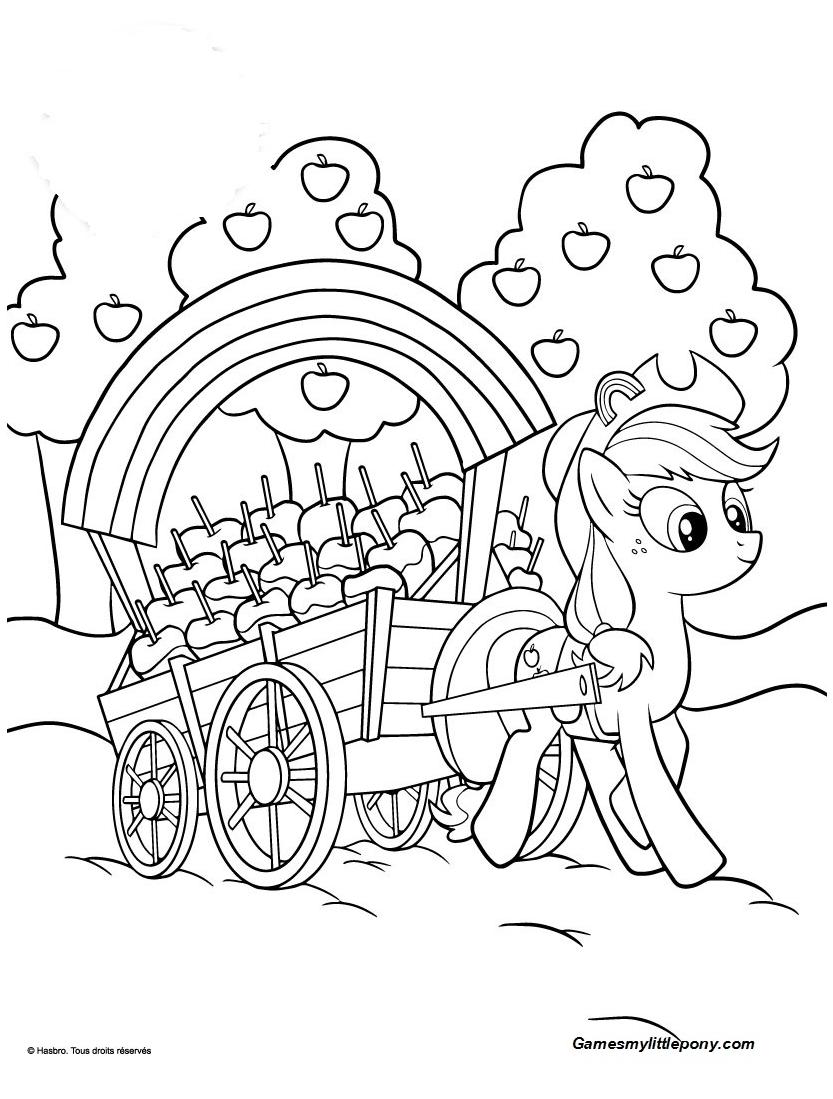 My Little Pony AppleJack Apple