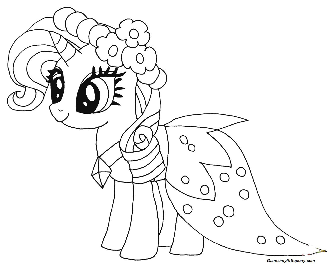 Princess Rarity from My Little Pony