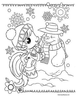 Rainbow Dash Happy Christmas