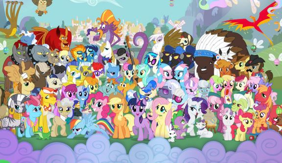My Little Pony Spotty Game