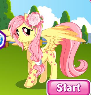 My Little Pony Hair Salon Game