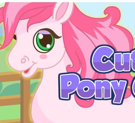 Cutie Pony Care Game
