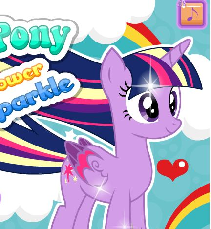 Twilight Sparkle Rainbow Power Style Game