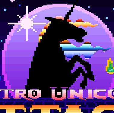 Retro Unicorn Attack Game