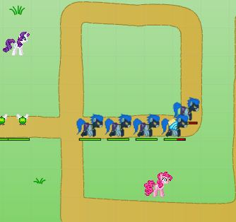Canterlot Siege Horses Against The Monsters Game