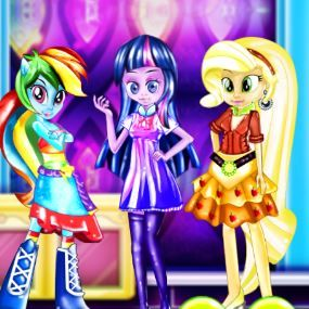 Equestria Girls High School Uniform Game