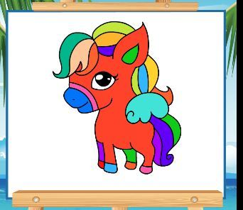 Pony Coloring Book 4 Game