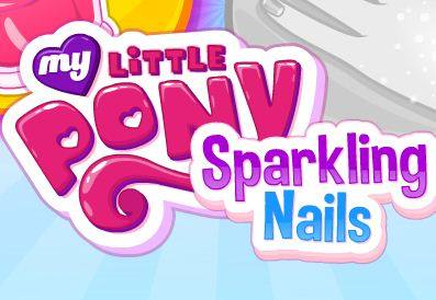 My Little Pony Sparkling Nails Game