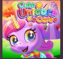 Cute Unicorn Care Game