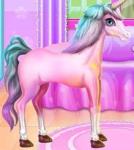 Unicorn Room Decoration Game