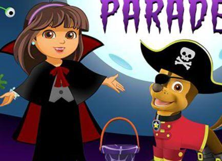 Nick Jr Halloween Dress Up Parade Game