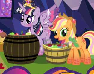 My Llittle Pony Twilight Celebration Game
