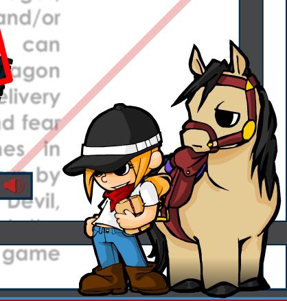 Messenger Girl HorseLand Game
