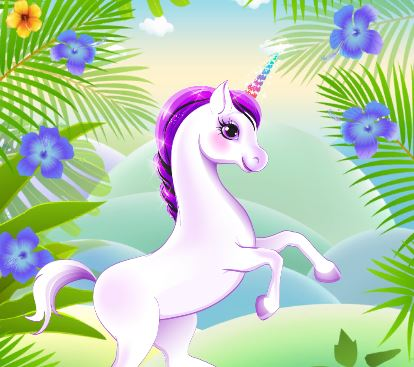 My Little Pony Unicorn Dress Up Game
