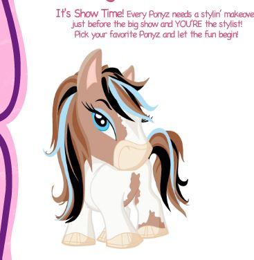 Bratz Babyz Ponyz Styling Show Game