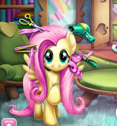 Fluttershy Real Haircuts Game
