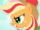Applejack Rainbow Power Style Game