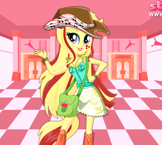 Applejack School Spirit Style Game