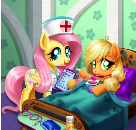Applejack Stomach Care Game