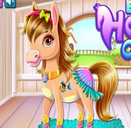 Baby Horse Caring Game