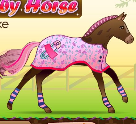 Baby Horse Deluxe Game