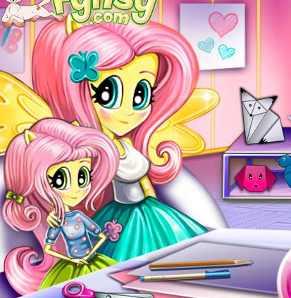 Baby Lessons With Fluttershy Game