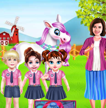 Baby Taylor Cute Pony Care Game