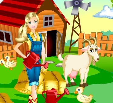 Barbie Farm Day Game