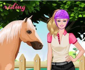 Barbie Loves Horse Game