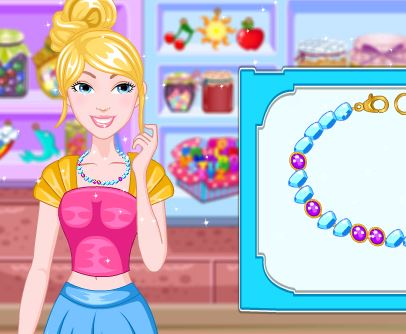 Barbie My Little Pony Necklace Game