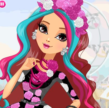 Briar Beauty Dress Up Game