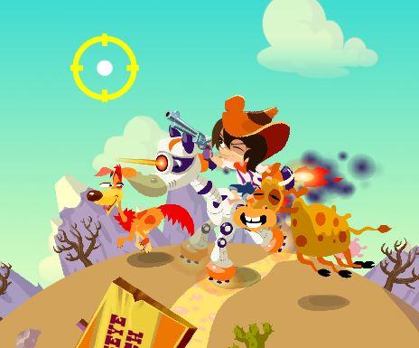 Cowboy Vs Ufos Game