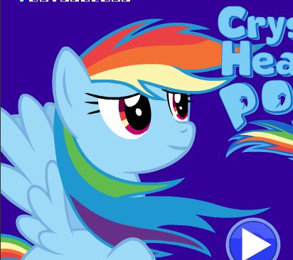 Crystal Hearts Pony Game