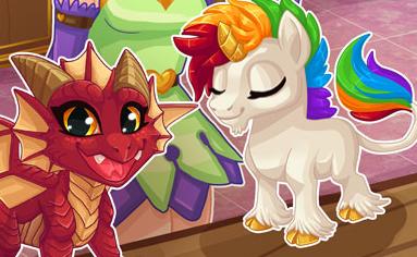 Crystals Magical Pet Shop Game