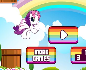 Cute Flappy Pony Game