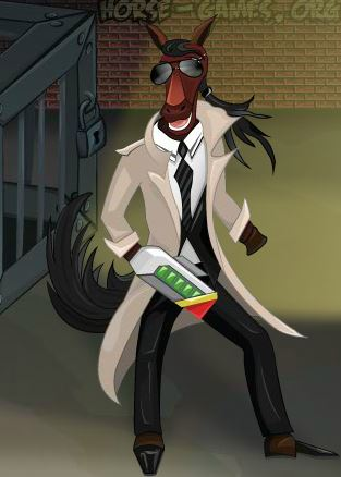 Detective Horse Game