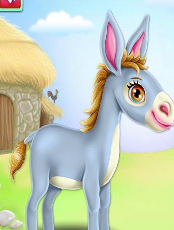 Donkey Horse Caring Game