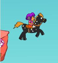 Dora's Pony Ride Game