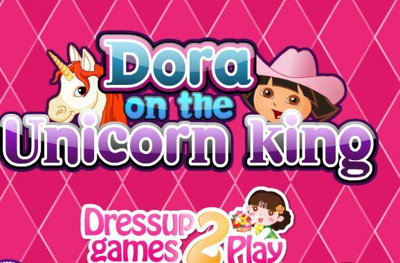 Dora Unicorn King Game