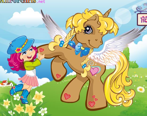 Dress Little Pony Game
