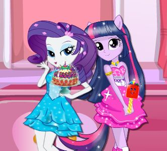 Equestria Girls Sweet Shop Game