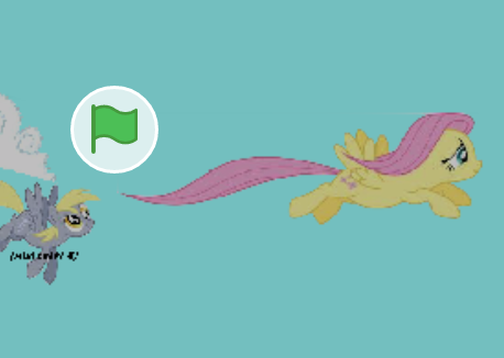 Fluttershy Fly Fly Fly Game