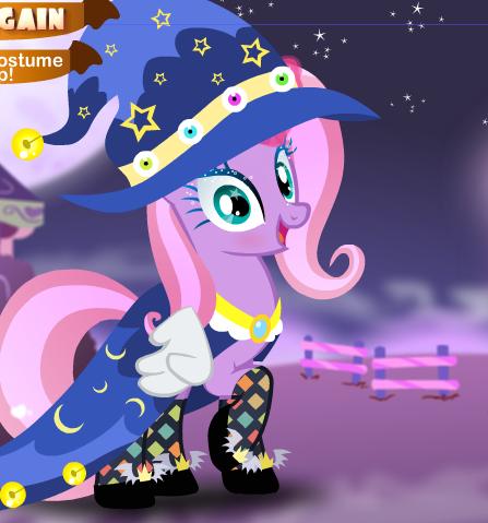 Halloween Pony Dressup Game