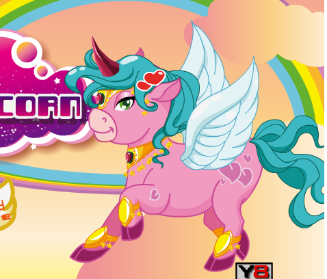 Happy Pink Unicorn Game